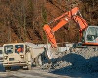 Escavatore Lizenzfreie Stockfotografie