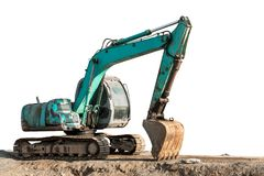 Escavatore Backhoe immagine stock libera da diritti