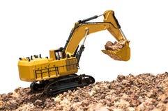 Escavatore Backhoe fotografie stock libere da diritti