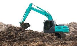 Escavatore Backhoe fotografia stock