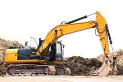 Escavatore Backhoe immagini stock