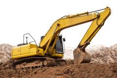 Escavatore Backhoe fotografia stock libera da diritti