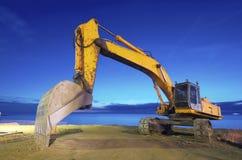 Escavatore a cucchiaia rovescia Fotografie Stock Libere da Diritti