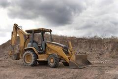 Escavatore a cucchiaia rovescia Fotografia Stock Libera da Diritti