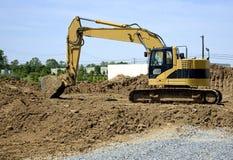 Escavatore a cucchiaia rovescia Immagini Stock Libere da Diritti
