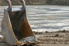 Escavatore a cucchiaia rovescia Immagini Stock