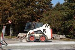 Escavatore del gatto selvatico Fotografia Stock Libera da Diritti