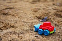 Escavatore del giocattolo Immagini Stock Libere da Diritti