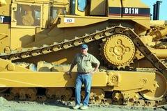 Escavatore del motore della sporcizia del CAT D11N Immagini Stock