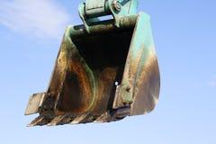 Escavatore della benna Immagine Stock