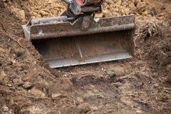 Escavatore della pala Immagini Stock Libere da Diritti