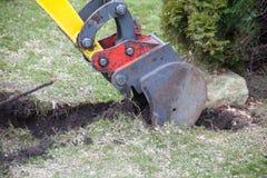Escavatore della pala Fotografie Stock