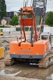 Escavatore di HITACHI Immagine Stock Libera da Diritti