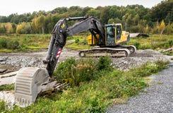 Escavatore di Volvo EC2908 Immagine Stock