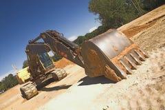 Escavatore industriale fotografia stock