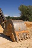 Escavatore industriale fotografia stock libera da diritti