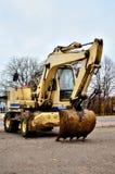Escavatore - Ready per funzionare Immagine Stock Libera da Diritti