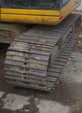 Escavatore Track Immagini Stock