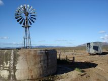 Escena aislada del desierto Foto de archivo libre de regalías