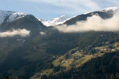 Escena alpestre, Austria fotos de archivo