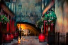 Escena artística de Londres Fotos de archivo