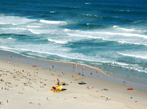Escena australiana de la playa imágenes de archivo libres de regalías