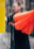 Escena borrosa de la vida urbana Imagen de archivo