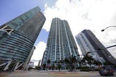 Escena céntrica de Miami Fotografía de archivo libre de regalías