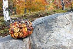 Escena colorida de la caída Foto de archivo