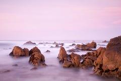 Escena costera californiana Fotos de archivo