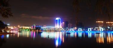 Escena cuadrada de la noche Imagen de archivo