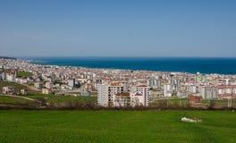 Escena de Atakum, ciudad de Samsun, Turquía Imágenes de archivo libres de regalías
