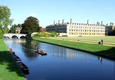 Escena de Cambridge Foto de archivo libre de regalías