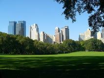 Escena de Central Park, NY, los E.E.U.U. Imagen de archivo libre de regalías