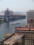 Escena de East River fotos de archivo