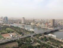Escena de El Cairo imagen de archivo libre de regalías