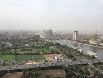 Escena de El Cairo fotografía de archivo