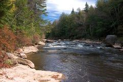 Escena de Fall River Imagen de archivo libre de regalías