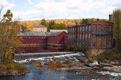 Escena de Fall River foto de archivo