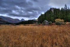 Escena de Glencoe Fotografía de archivo