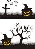 Escena de Halloween Foto de archivo libre de regalías