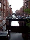 Escena de Hamburgo Foto de archivo