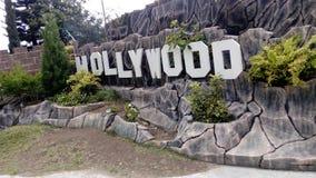 Escena de hollywood Fotografía de archivo libre de regalías