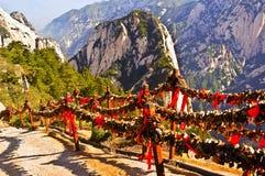 Escena de Huashan (montaña Huashan) fotografía de archivo libre de regalías