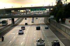 Escena de la autopista sin peaje Fotografía de archivo libre de regalías