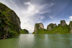 Escena de la bahía de Halong Fotografía de archivo libre de regalías