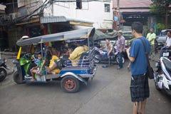 Escena de la calle Fotos de archivo libres de regalías