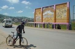Escena de la calle de Antananarivo, Madagascar Foto de archivo libre de regalías