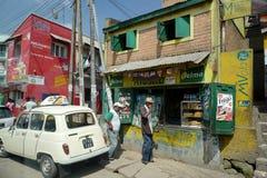 Escena de la calle de Antananarivo, Madagascar Imágenes de archivo libres de regalías