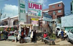 Escena de la calle de Antananarivo, Madagascar Fotos de archivo libres de regalías